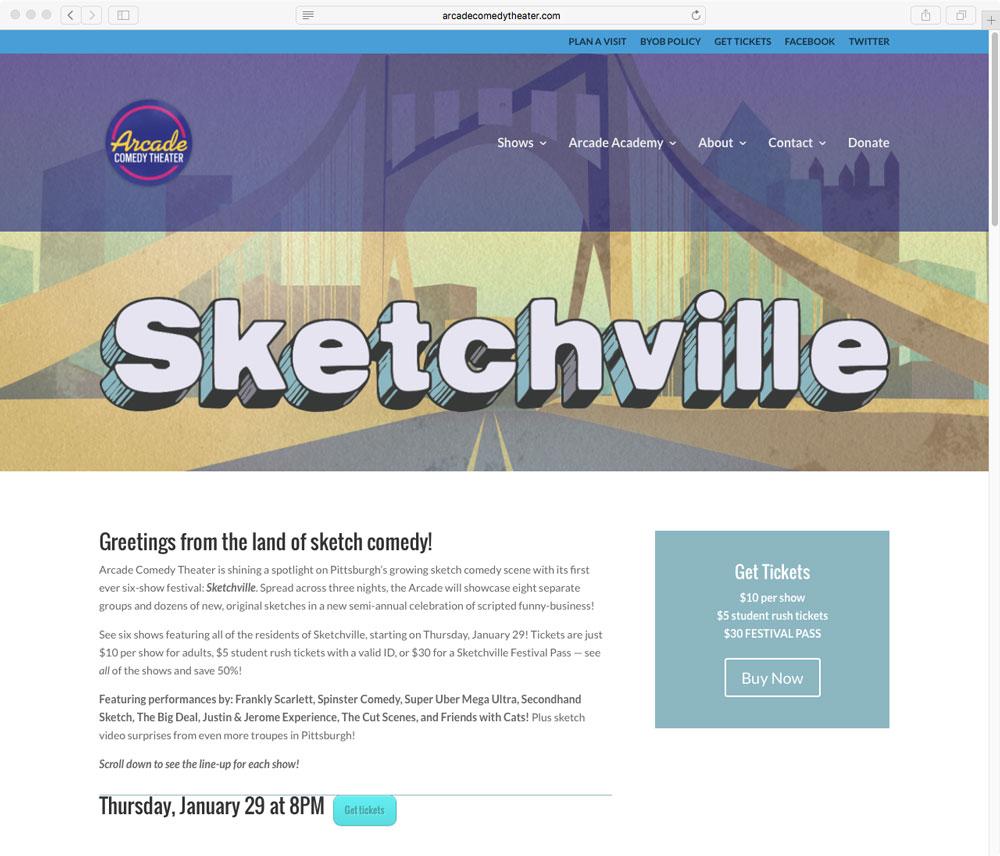 Sketchville Subpage