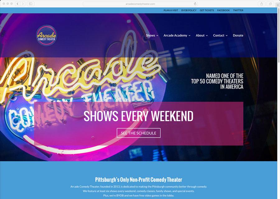 Arcade Website