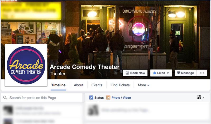 Arcade Facebook Page