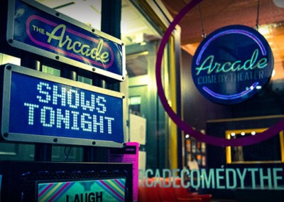 Arcade Comedy Theater Branding