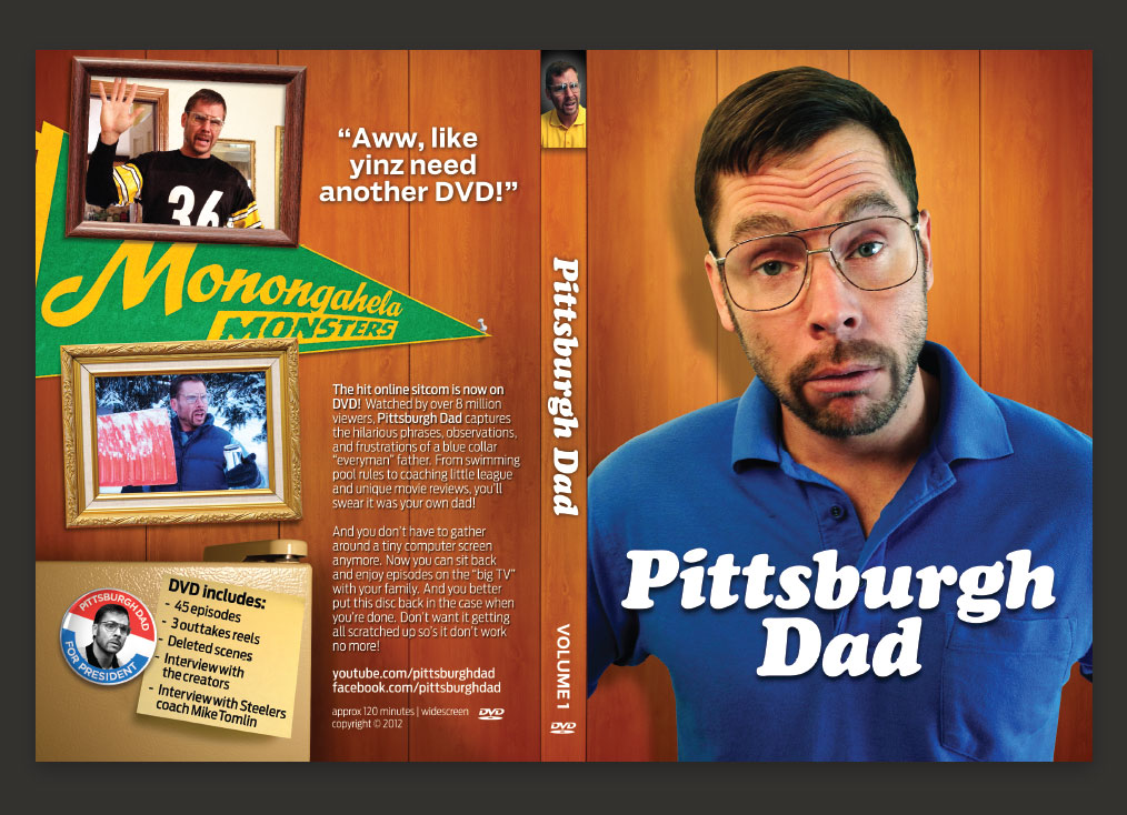 Pittsburgh Dad DVD - Flat Layout