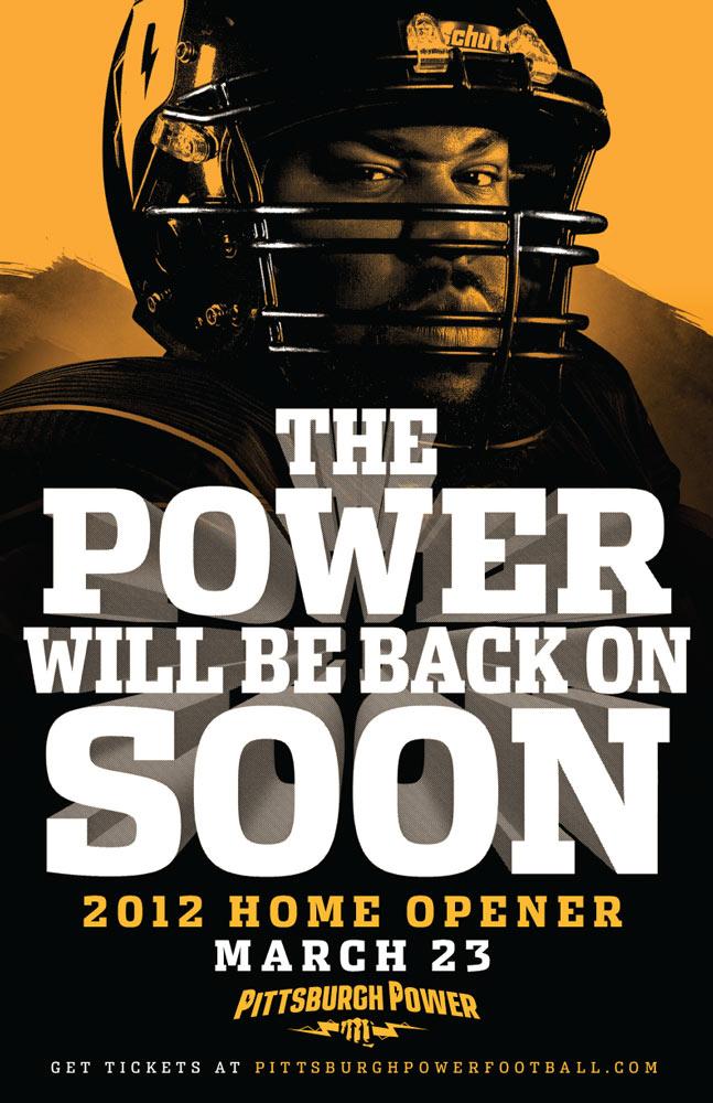 Pittsburgh Power Bar Poster