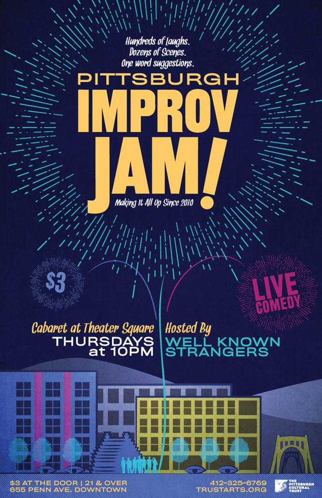 Improv Jam 2015 Poster