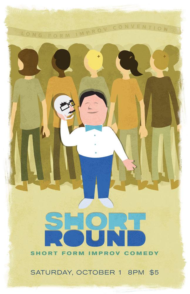 Short Round 11x17 Poster