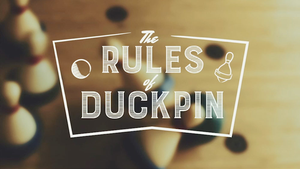 Rules of Duckpin